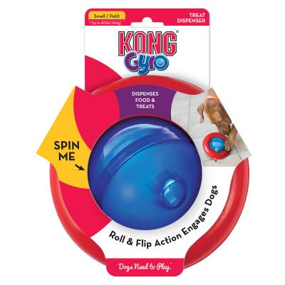 KONG Gyro Treat Dispensing Small Toy For Dogs