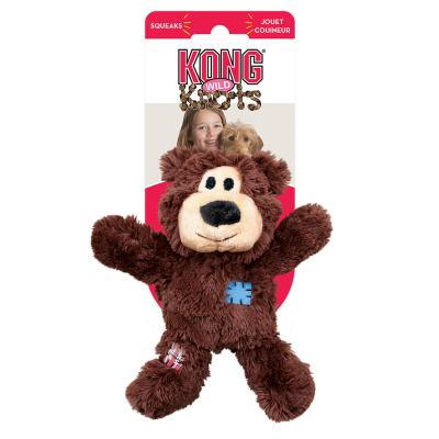 KONG Wild Knots Bear Small/Medium Toy For Dogs