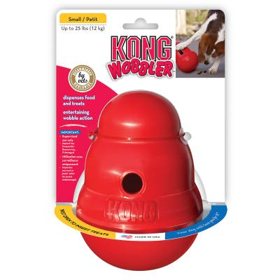 KONG Wobbler Treat Dispensing Toy Small For Dogs
