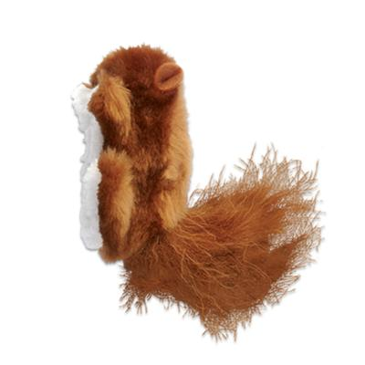 KONG Refillables Squirrel Cuddly Catnip Toy For Cats