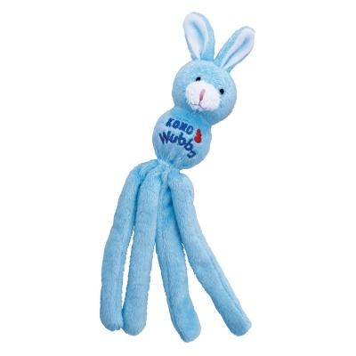 KONG Wubba Bunny Soft Cuddly Rattle And Crinkle Catnip Toy For Cats
