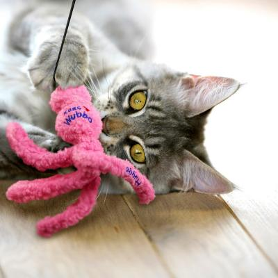 KONG Wubba Hugga Soft Cuddly Rattle And Crinkle Catnip Toy For Cats