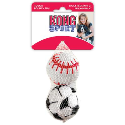 KONG Sport Balls Fetch Toys Large For Dogs 2 Pack
