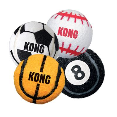 KONG Sport Balls Fetch Toys Medium For Dogs 3 Pack