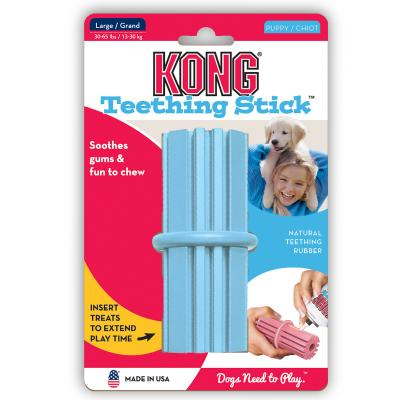 KONG Puppy Teething Dental Stick Large Toy For Dogs