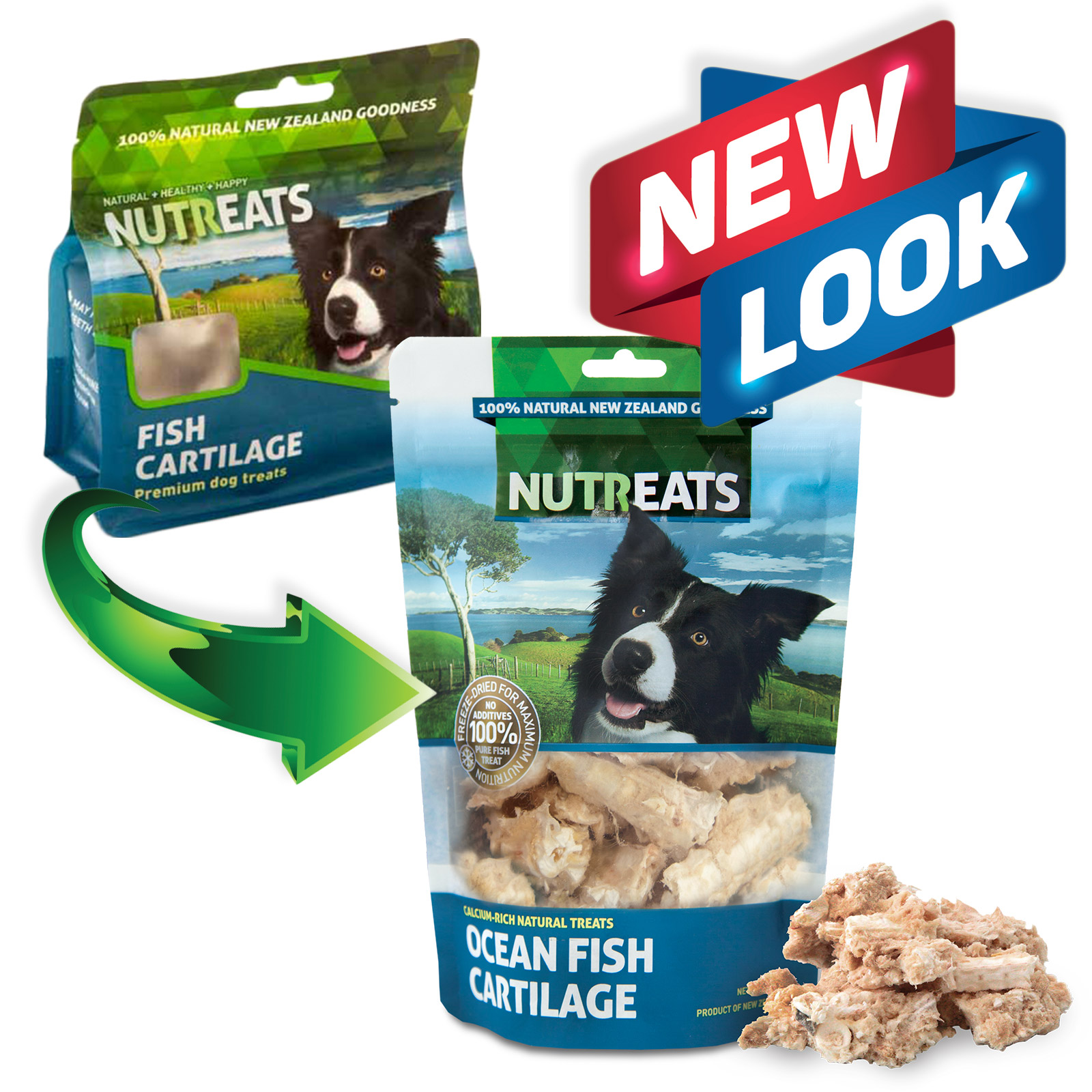 Nutreats Pure Fish Cartilage Treats For Dogs 50gm