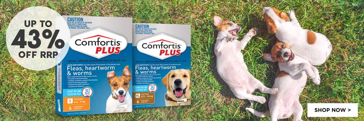 Comfortis Plus 6 Packs - Up To 43% Off RRP