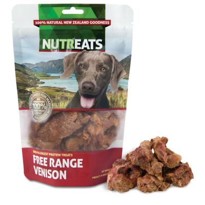 NutrEats Pure Venison Treats For Dogs 50gm