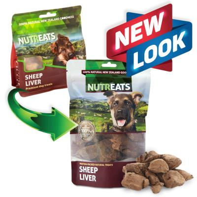 NutrEats Pure Sheep Liver Treats For Dogs 50gm