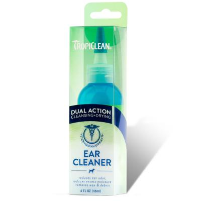 Tropiclean Dual Action Ear Cleaner For Dogs 118ml