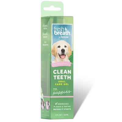 Tropiclean Fresh Breath Clean Teeth Gel Puppy For Dogs 59ml