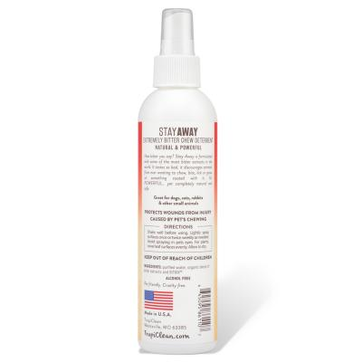 Tropiclean Stay Away Extremely Bitter Stop Chew Deterrent 236ml