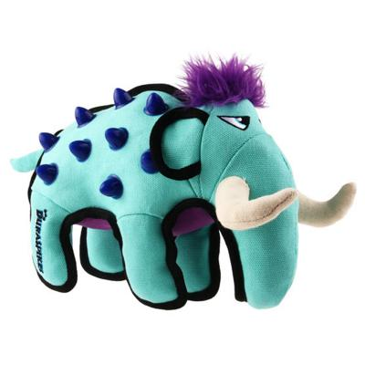 GiGwi Duraspikes Durable Blue Elephant Tough Toy For Dogs