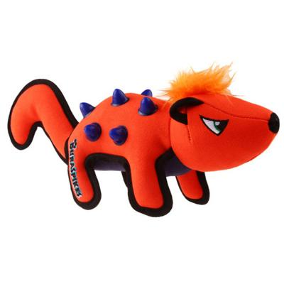 GiGwi Duraspikes Durable Orange Raccoon Tough Toy For Dogs
