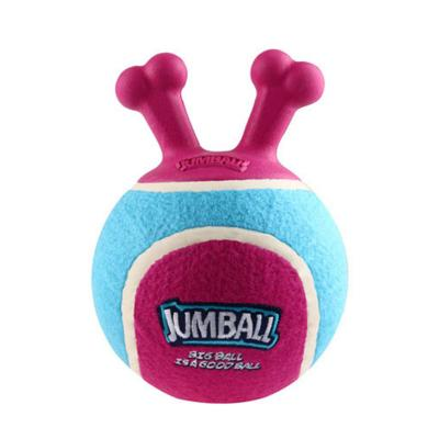 GiGwi Jumball Tennis Ball Pink And Blue Throw And Fetch Toy for Small Dogs