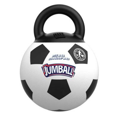 GiGwi Jumball Soccer Ball Black And White Throw And Fetch Toy for Dogs (6332)