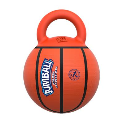 GiGwi Jumball Basketball Orange Throw And Fetch Toy for Dogs (6338)