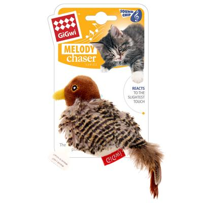 GiGwi Melody Chaser Bird Motion Activated Sound Toy For Cats (7020)