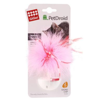 GiGwi PetDroid Feather Wobbler Motion Activated Sound Toy For Cats (7003)