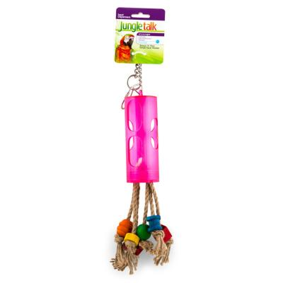 Jungle Talk Snack N Play Treat Stick And Fruit Holder Small Toy For Birds