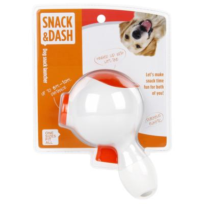 Snack Launcher Treat Toy For Dogs White/Orange