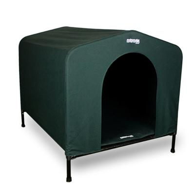 Houndhouse Large (84x73x80cm) Green Kennel
