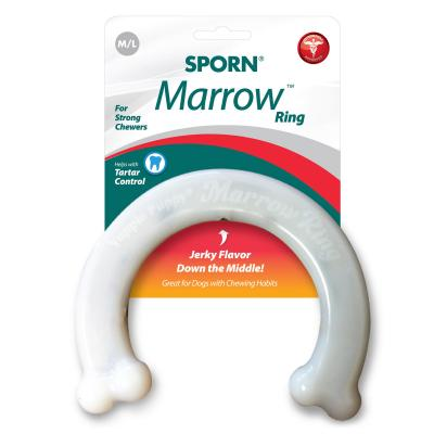 Sporn Marrow Nylon Ring Bone Medium Large Toy For Dogs