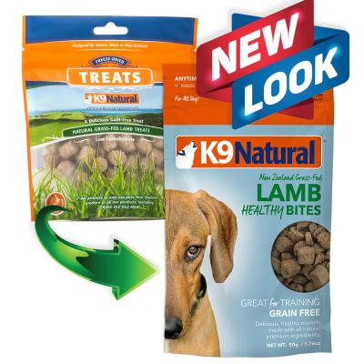 K9 Natural Healthy Bites Lamb Freeze Dried Treat For Dogs 50gm