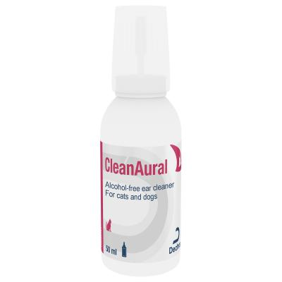 Cleanaural Alcohol Free Ear Cleaner For Dogs And Cats 50ml