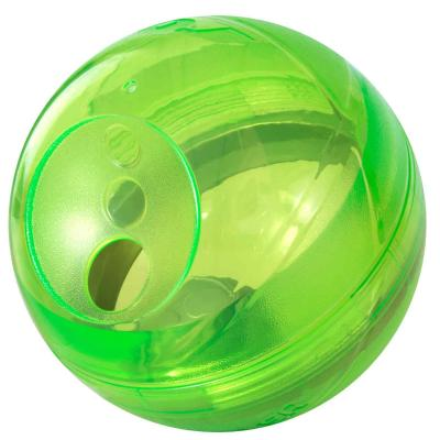 Rogz Tumbler Treat Dispenser Puzzle Ball Lime Toy For Dogs