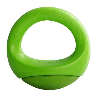 Rogz Pop Upz Lime Medium Large Fetch Toy For Dogs 14.5cm