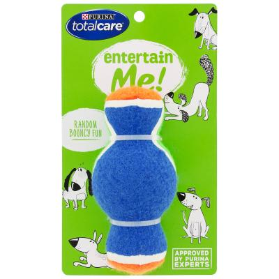 Total Care Entertain Me Tri Ball Toy For Dogs