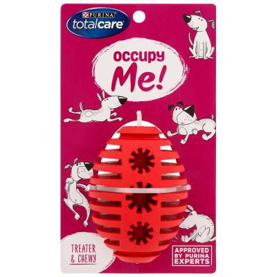 Total Care Occupy Me Rubber Treater Medium Toy For Dogs