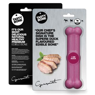 Tasty Bone Gourmet Edible Duck For Small Adult Dogs