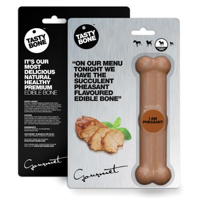 Tasty Bone Gourmet Edible Pheasant For Small Adult Dogs
