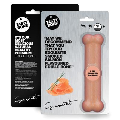 Tasty Bone Gourmet Edible Smoked Salmon For Small Adult Dogs