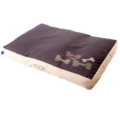 Rogz Comfy Cushion Mocha Bone Medium Bed For Dogs