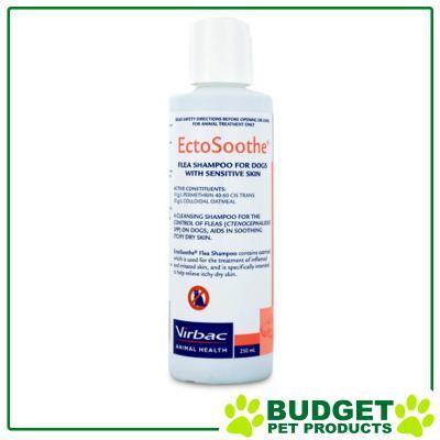 Ecto Soothe Sensitive Skin Flea Shampoo For Dogs 250ml
