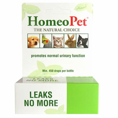 HomeoPet Leaks No More For Dogs 15ml
