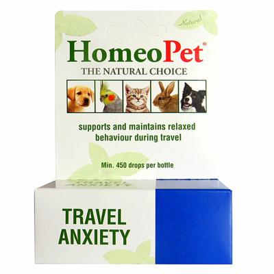 HomeoPet Travel Anxiety Motion and Travel Sickness For Dogs 15ml