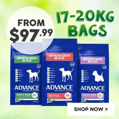 Advance 17-20kg Bags From $97.99