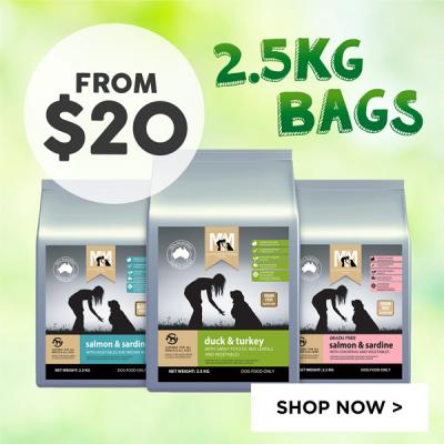 Meals For Mutts 2.5kg Bags From $20