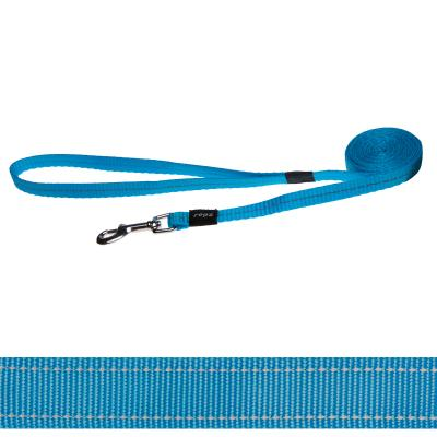 Rogz Utility Reflective Lead Turquoise Small For Dogs