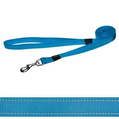 Rogz Utility Reflective Lead Turquoise Medium For Dogs