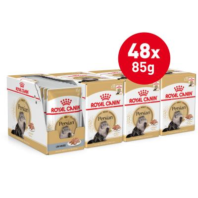 Royal Canin Persian Adult Pouches Wet Cat Food 85g x 48