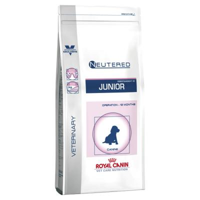 Royal Canin Vet Care Canine Neutered Junior Medium Dry Dog Food 10kg (14523)