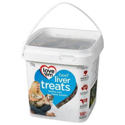 Love Em Beef Liver Treats For Dogs 750gm