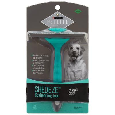 Petlife Professional Shedeze Deshedding Tool Large Step 4 Grooming For Dogs