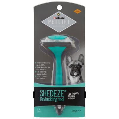 Petlife Professional Shedeze Deshedding Tool Small Step 4 Grooming For Dogs