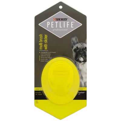 Petlife Professional Multi Brush With Slicker For Dogs Step 2